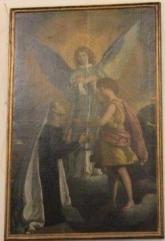 apparizione a S. Francesca Romana del figlio Evangelista e di un angelo