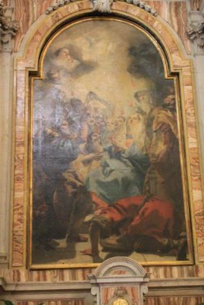 Altare dello spirito Santo.