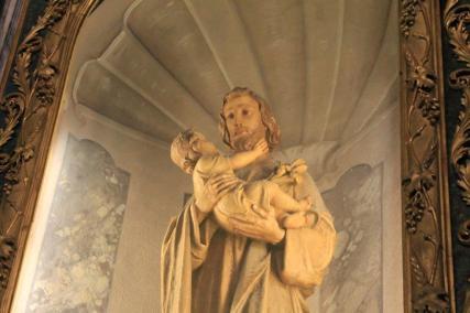 Altare San Giuseppe particolare