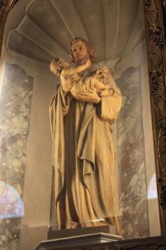 Altare San Giuseppe.