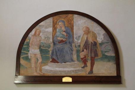 Maria con Santi Stefano e Sebastiano