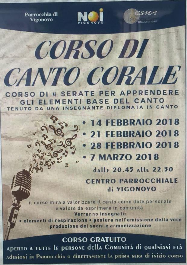Corso Vocale 2018